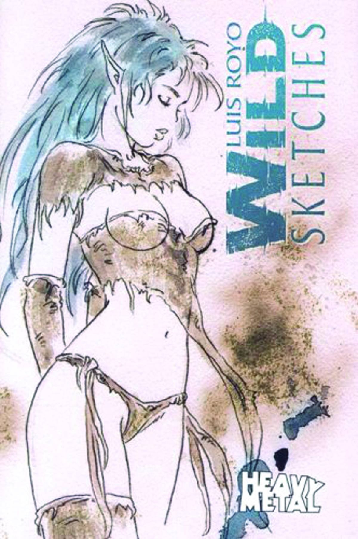 Download Luis Royo Wild Sketches Volume 2 pdf epub