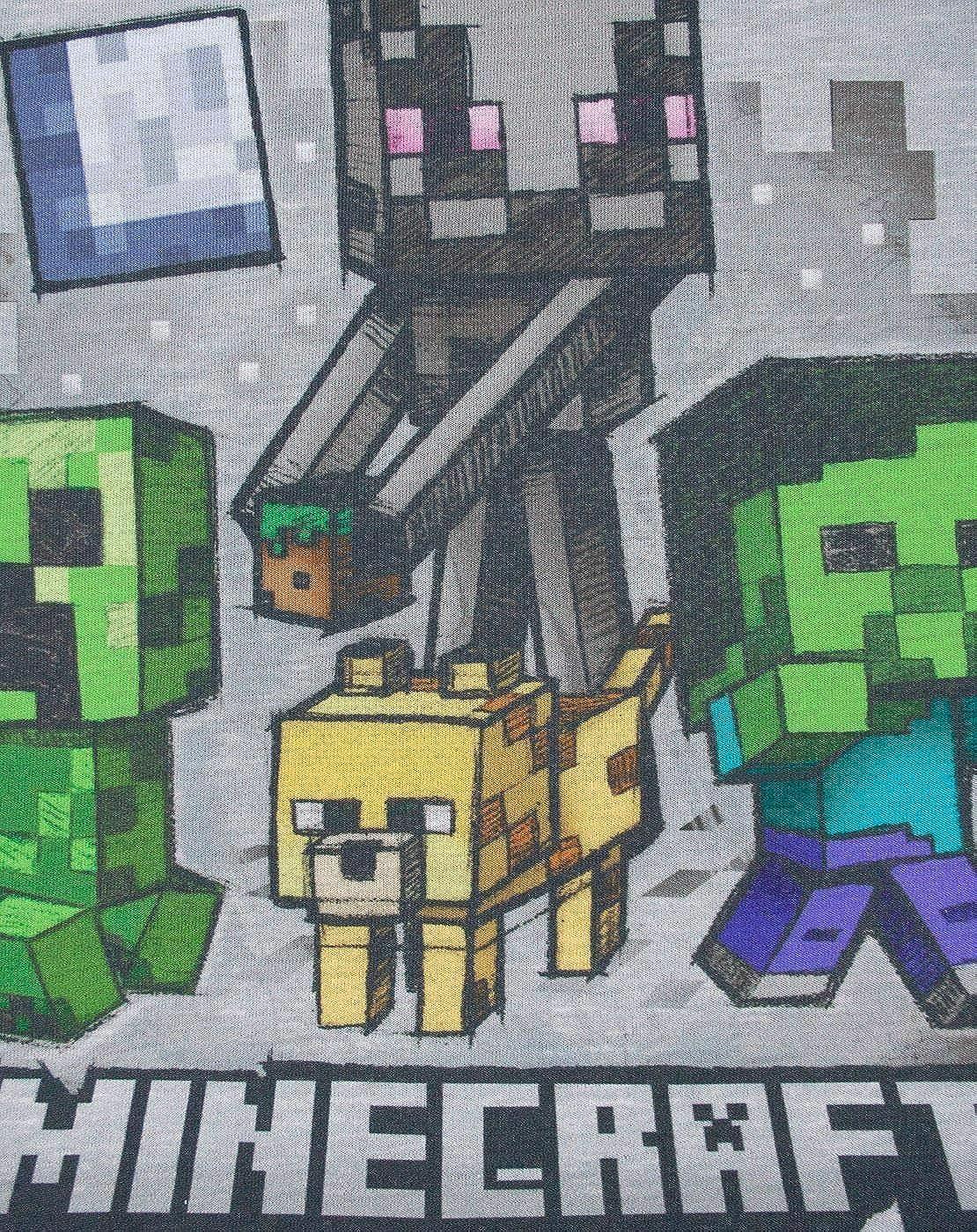 Vanilla Underground Minecraft Zombie Boys Pyjamas