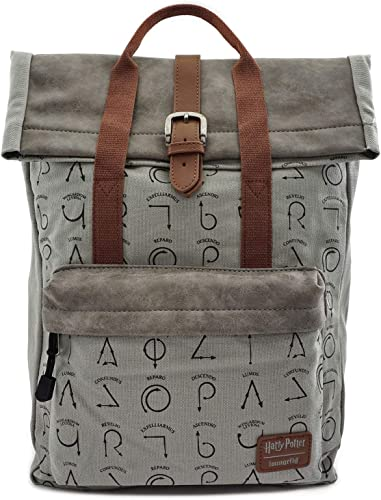 Loungefly Harry Potter Spells Flap Backpack