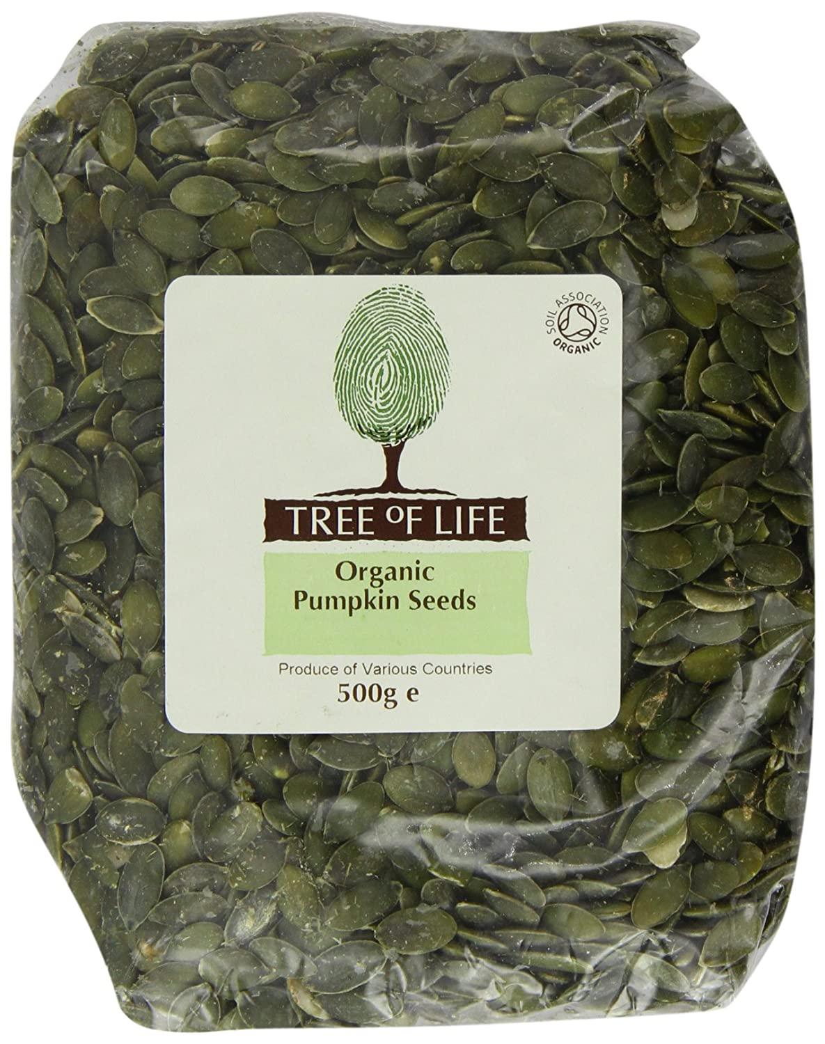 Tree of Life Pumpkin Seeds 500 G (Pack of 2)