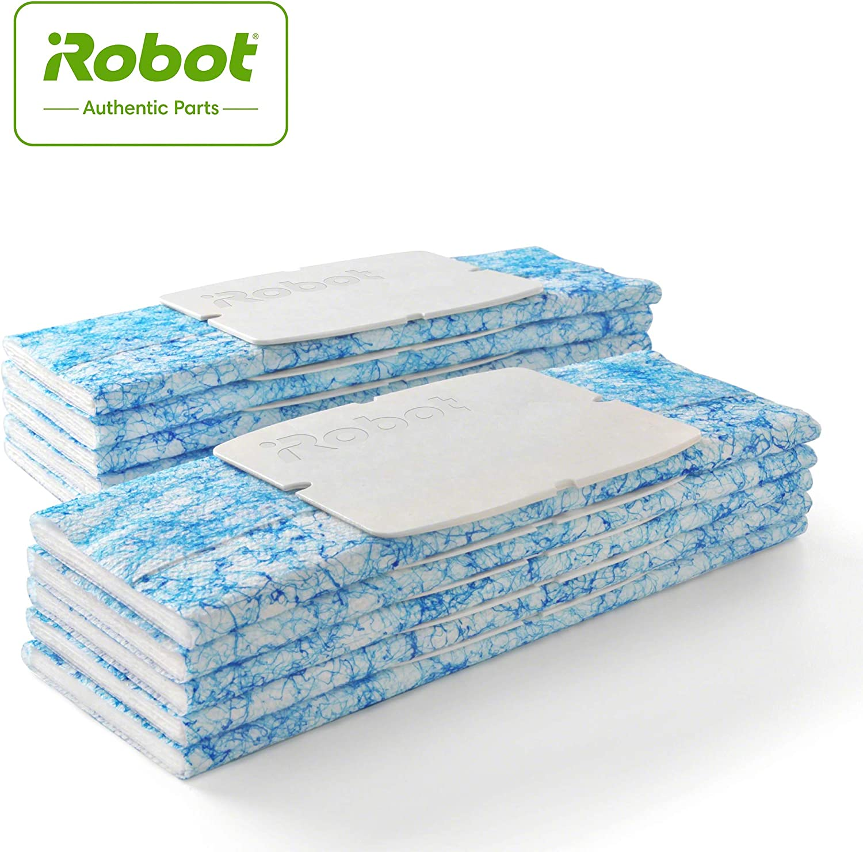 iRobot Braava Jet 240 Wet Robotic Mop Pad, Blue