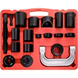 Orion Motor Tech Master Ball Joint Press & U-Joint Puller Service Tool Set 21PCS - Upper and Lower Ball Joint Removal Tool Set