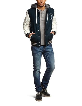 Steppjacken | Mode Tom Tailor Denim Blau Steppjacke Herren