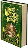 NovelTea Tea Tins British Collection Oliver Lemon Twist : Organic Lemongrass Tea : Charles Dickens' Oliver Twist : A Unique Tea Gift For Father's Day (1 oz, 28g, 15 cups)