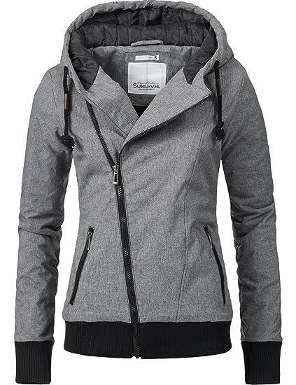 Sublevel Chaqueta de invierno para Mujer, con capucha, 44308, 2 colores, XS – XL