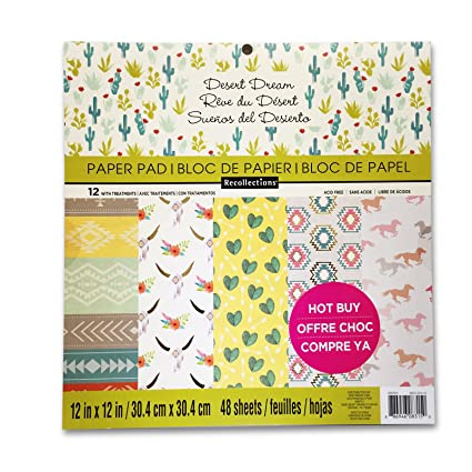 Amazon Recollections Desert Dream Paper Pad