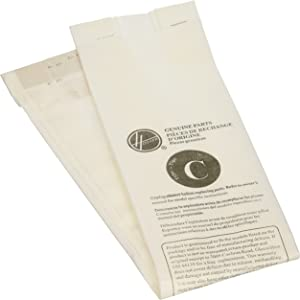 Hoover Paper Bag, Type C Upright Bottom Fill (Pack of 3)