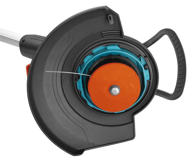 Desbrozadora EasyCut 400/25 de GARDENA: cortadora con 250 mm de diámetro de corte, para cortar césped y malas hierbas, con mango telescópico ajustable, ...