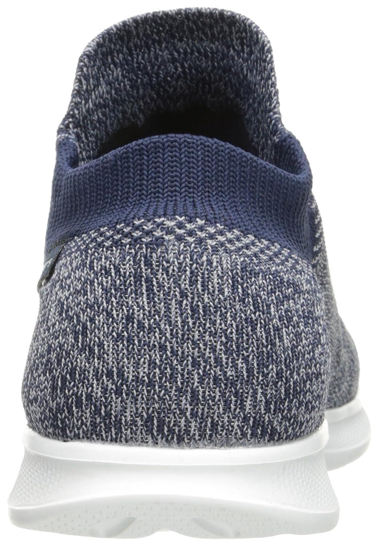 Skechers Damen Go Step Sneakers Lite Sneakers Step im Slip-on Stil Zum Hineinschlüpfen mit Einer Zwischensohle aus GOGA Max™ Technology 5GEN® Blau (Navy Weiß) 81277d