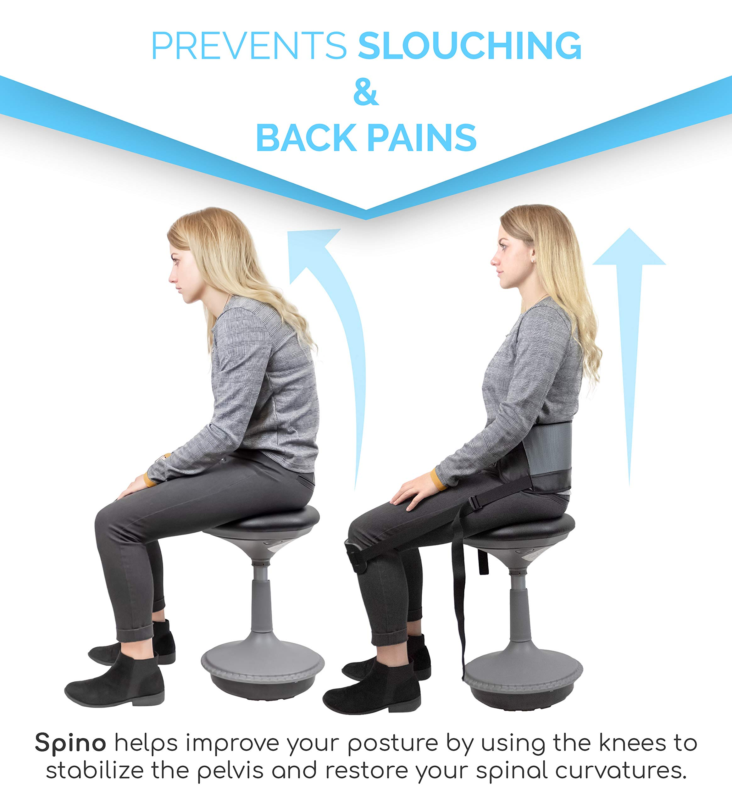 Notion Innovations Spino Standard Back Support Posture Correction and Improvement System by Spino (Image #2)