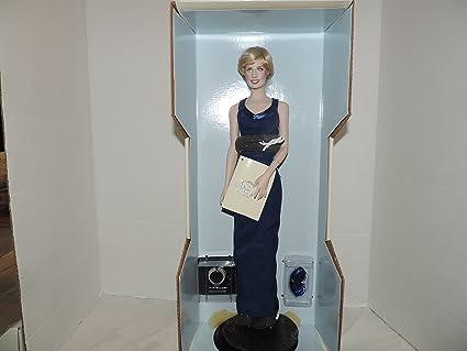 Amazon.com: Diana Princess of Wales Porcelain Portrait Doll By the ...