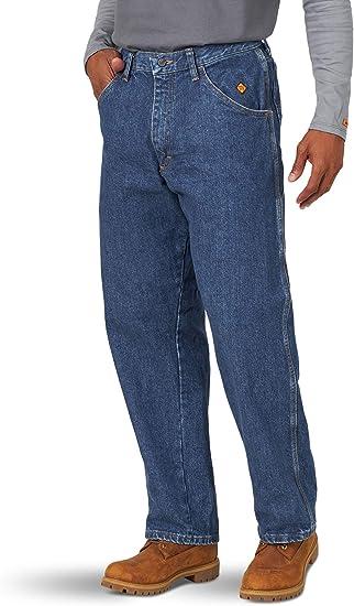 Wrangler Riggs Workwear Fr Pantalones De Carpintero Resistentes Al Fuego Para Hombre Mezclilla 40w X 32l Amazon Com Mx Ropa Zapatos Y Accesorios
