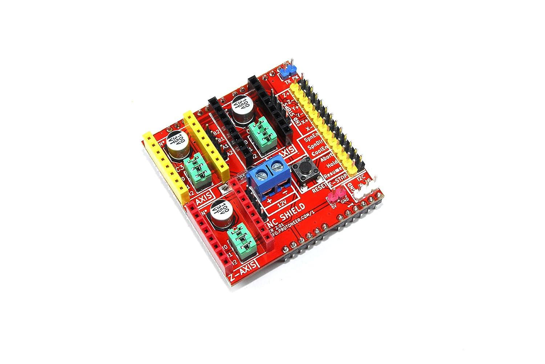 Arduino CNC Shield V2 A4988 3d impresora de grabado 12 V Proto ...
