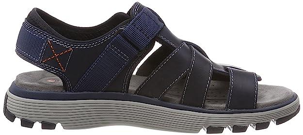 51a1f2b9040 Clarks Men s Un Trek Cove Sling Back Sandals Brown  Amazon.co.uk  Shoes    Bags