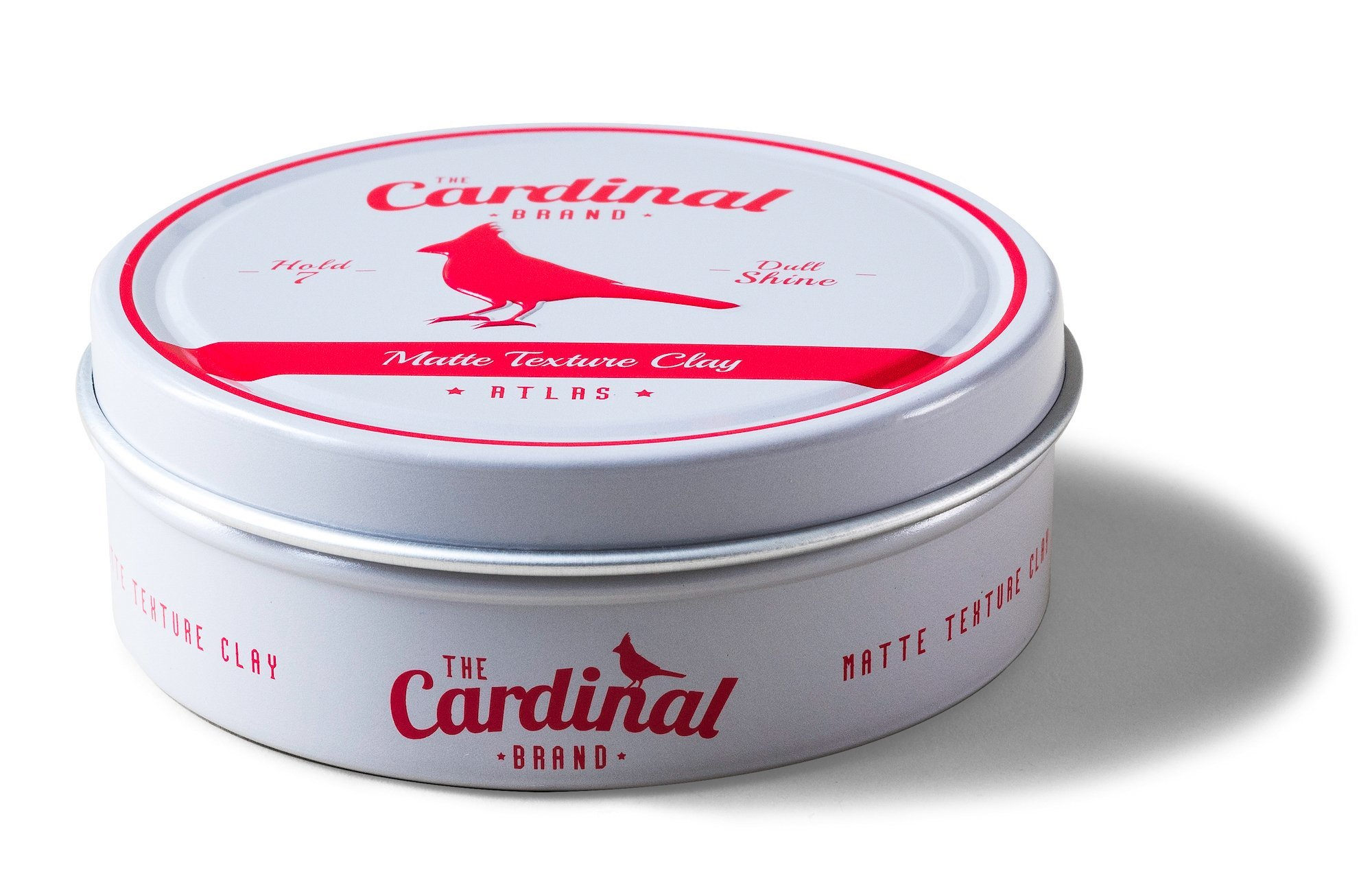 The Cardinal Brand Atlas Matte Texture Clay 3.4 Ounce is an Ultra Lightweight, Matte Hair Clay, Medium to Firm Hold, Thickening, Volume Building, Hair Styling and Grooming Product for Men and Women by The Cardinal Brand (Image #3)