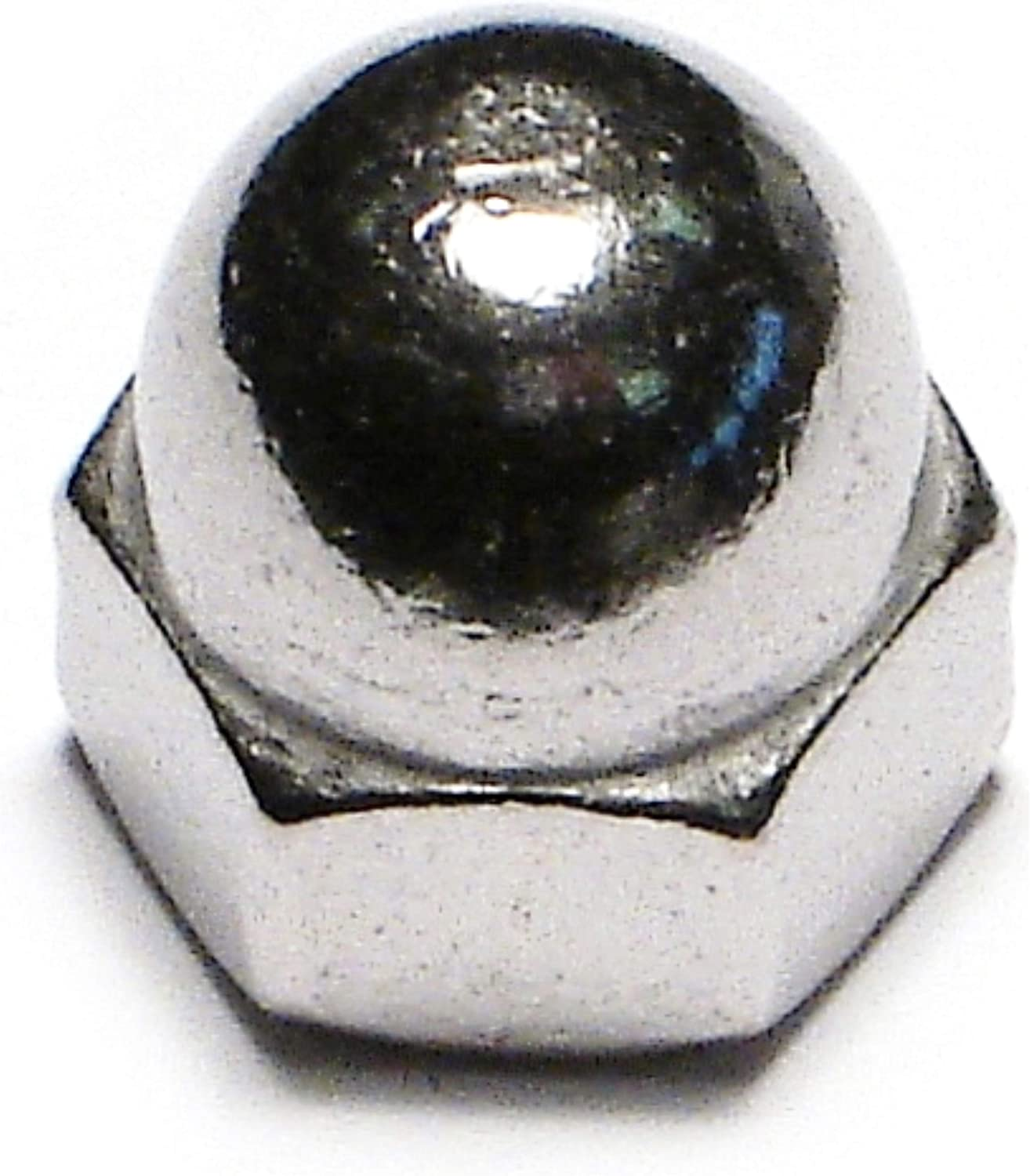 Hard-to-Find Fastener 014973435493 Acorn Nuts 1//4-20 Piece-8 Midwest Fastener Corp