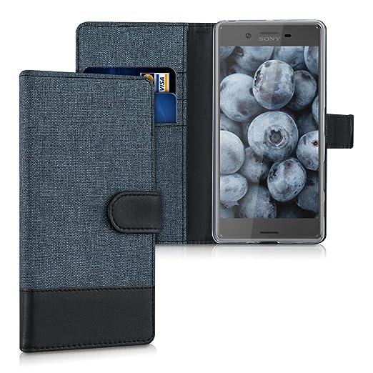 4 opinioni per kwmobile Custodia portafoglio per Sony Xperia X- Cover in simil pelle a libro