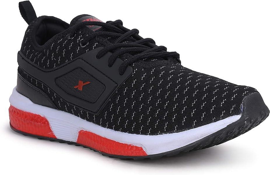 Sparx Men SM-460 Black Red Sports Shoes