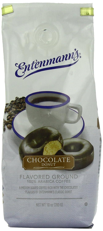ENTENMANNS COFFEE GRND CHOC DONUT 10OZ