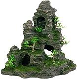 Trixie 8859 Felsformation Höhle/Pflanzen, stehend, 31 cm