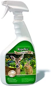 Repellex 10001 1-Quart RTU Deer and Rabbit Repellent Original formula