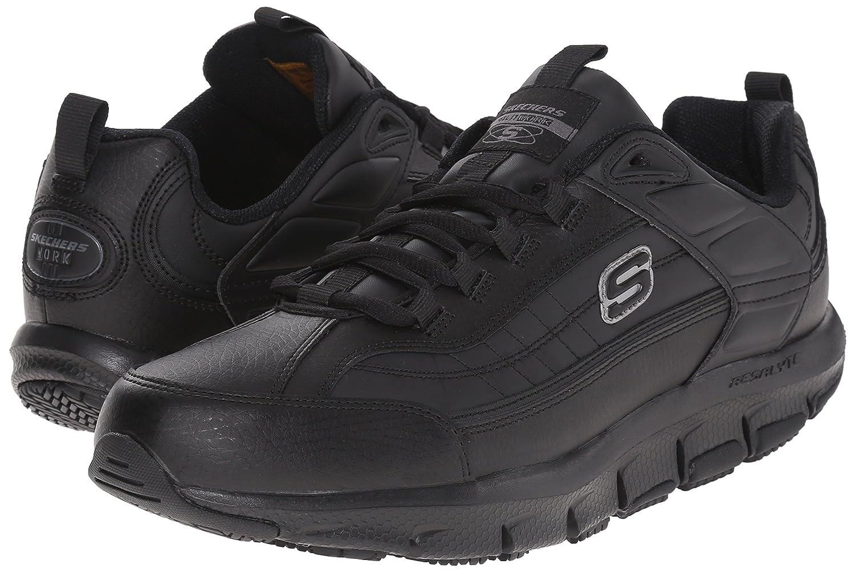 92880632 Amazon.com: Skechers for Work Men's 76990 Liv Sr Brawney Shape Ups Work Shoe:  Shoes