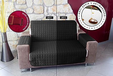 Banzaii Protector Relleno para Sofa y Sillon – Funda Sofa Acolchada – Cubre Sofa Reversible – Salva Sofa Anti Gatos – Impermeable – No Sucio – No ...