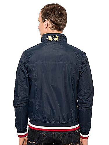 Santa Mónica Harrington chaqueta para hombre | El viento Retro ...