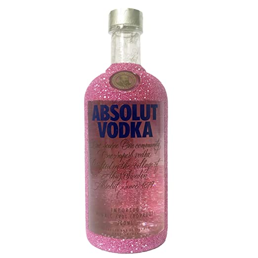 New Sparkling Absolut vodka 70cl Pink Edition gift set fully gift boxed - Perfect Birthday,