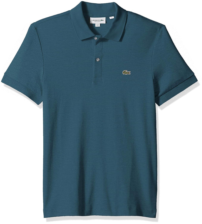 Lacoste Mens S//S Pima Jersey Polo Interlock Reg
