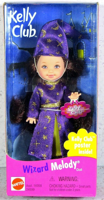 Barbie Kelly 1999 - Melody as Wizard   Zauberer -.Kelly Club Poster inside B01C6NO3SS Ankleide- & Modepuppen Online-Shop  | Feinen Qualität