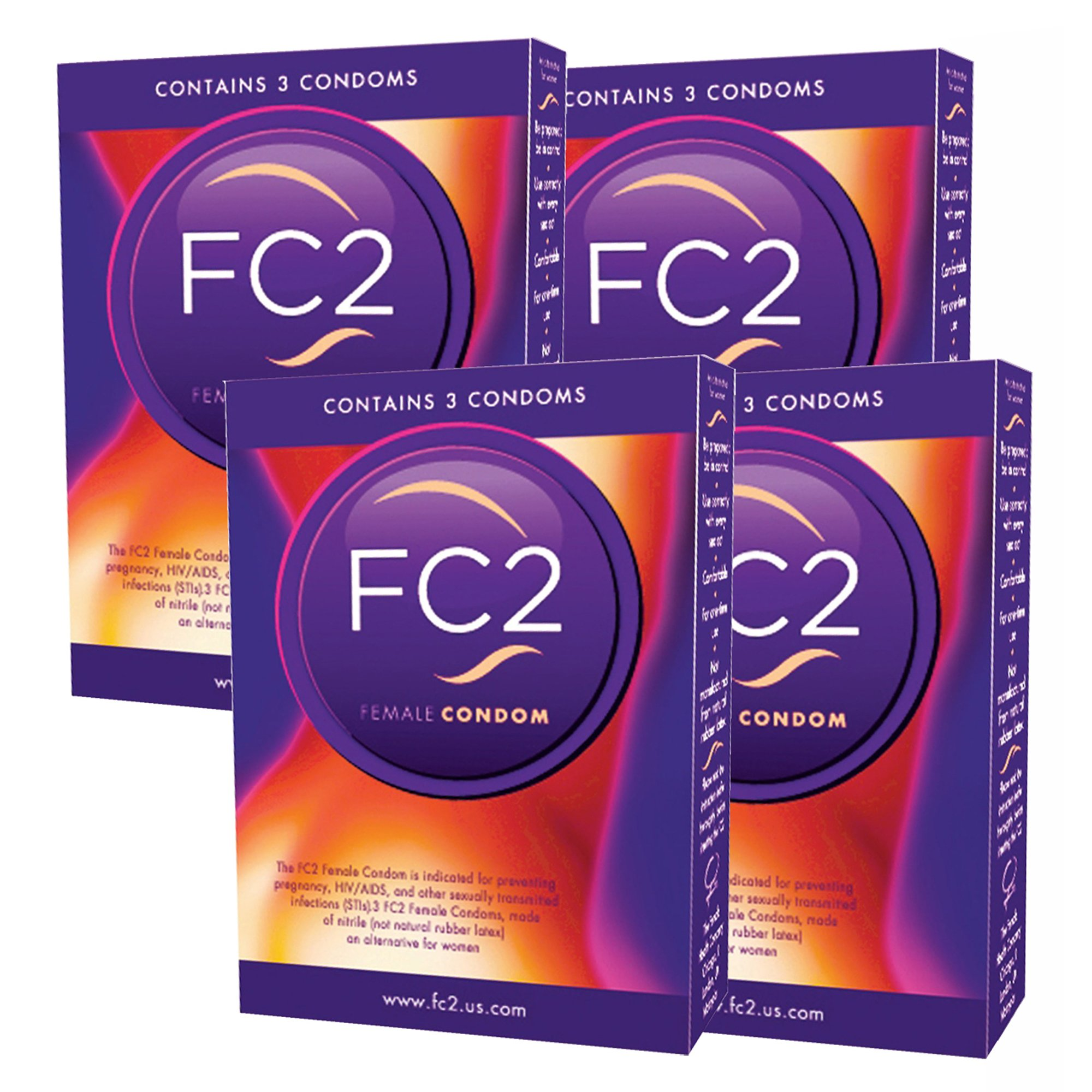 FC2 Female Condoms, 12 Count by FC2