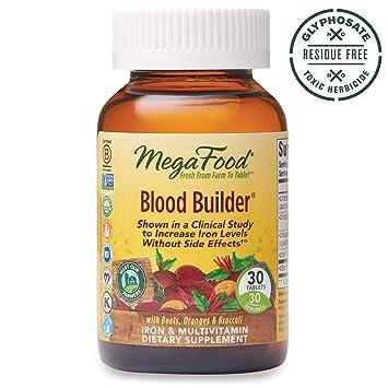 Amazon.com: Comprimidos de suplemento de hierro Blood ...