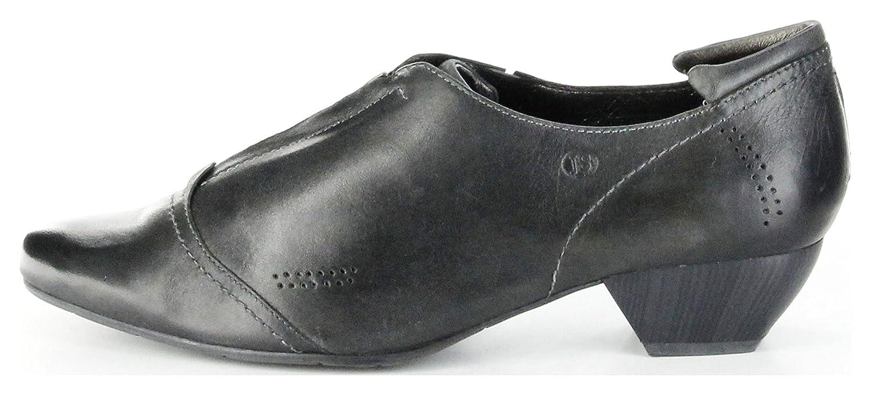 Josef Seibel Halbschuhe Halbschuhe Halbschuhe schwarz Glattleder Lederdecksohle Damen Schuhe Kylie 09 Schwarz 573896