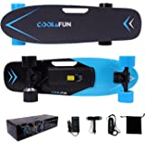 Cool & Fun Skateboard Eléctrico de 4 ruedas Monopatín con Control Remoto