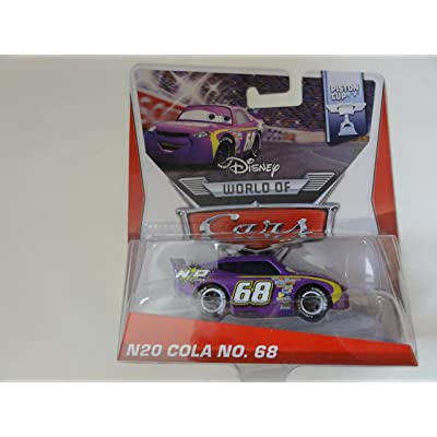 Disney/Pixar Cars The World of Cars Exclusive N2O Cola No. 68 (Synthetic Rubber Tires): Toys & Games