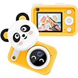 Bright Platinum Kids Camera, 1080P HD Selfie Dual Video Cameras for Toddler, Birthday Gifts for Girl, Portable Toy for 4…
