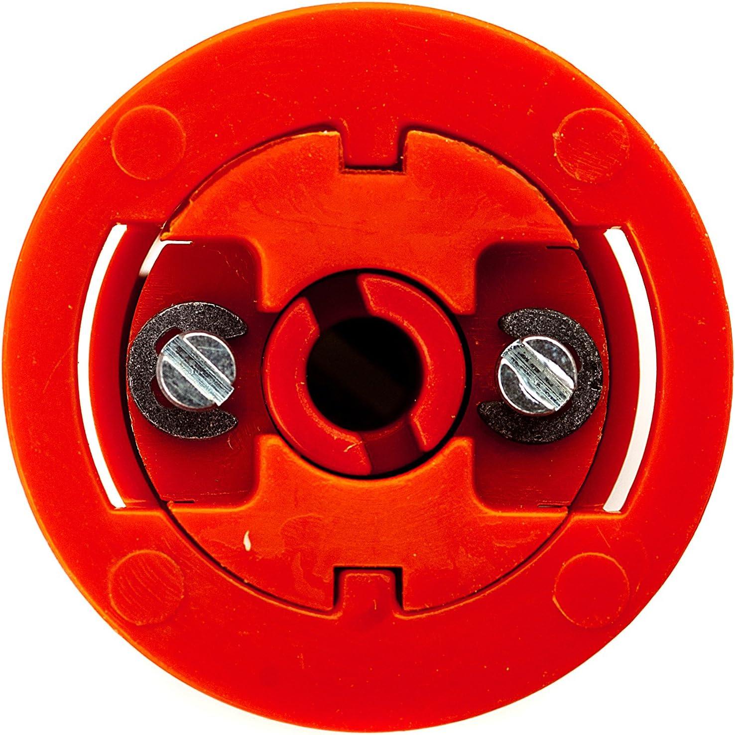 Worlds Ultimate Plaque de pl/âtre de fixation Rouge 18/mm Lot de 8/avec vis 30/mm Grip It 2015