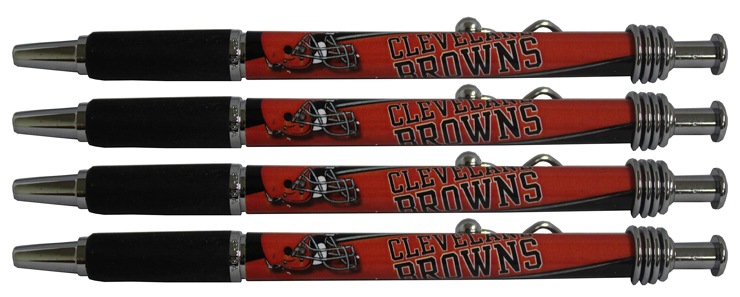 Cleveland Browns Jazzy Pen 4pk