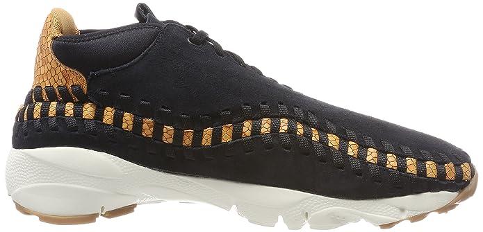 meet 735a3 f7a48 Nike Air Footscape Woven Chukka PRM, Zapatillas de Gimnasia para Hombre   Amazon.es  Zapatos y complementos