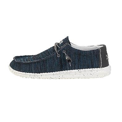 Dude Shoes Men's Farty Sox Knit Grey Azur Slip On / Mule UK10 / EU44 oNVNDrb3
