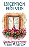 Deception in Devon: A senior sleuth travel mystery with a hint of romance. (Viviane's Adventures Mystery Book 1)