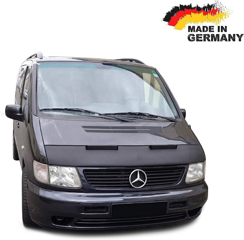 Haubenbra f/ür Vito W638 Steinschlagschutz TUNING Steinschlagschutzmaske Automaske
