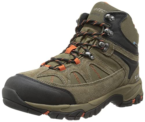 Hi-Tec Men's Altitude Lite I WP Hiking Boot, Smokey Brown/Taupe/Red Rock,7 M US