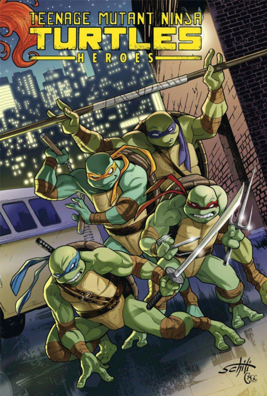 Teenage Mutant Ninja Turtles Heroes Collection: Brian Lynch ...