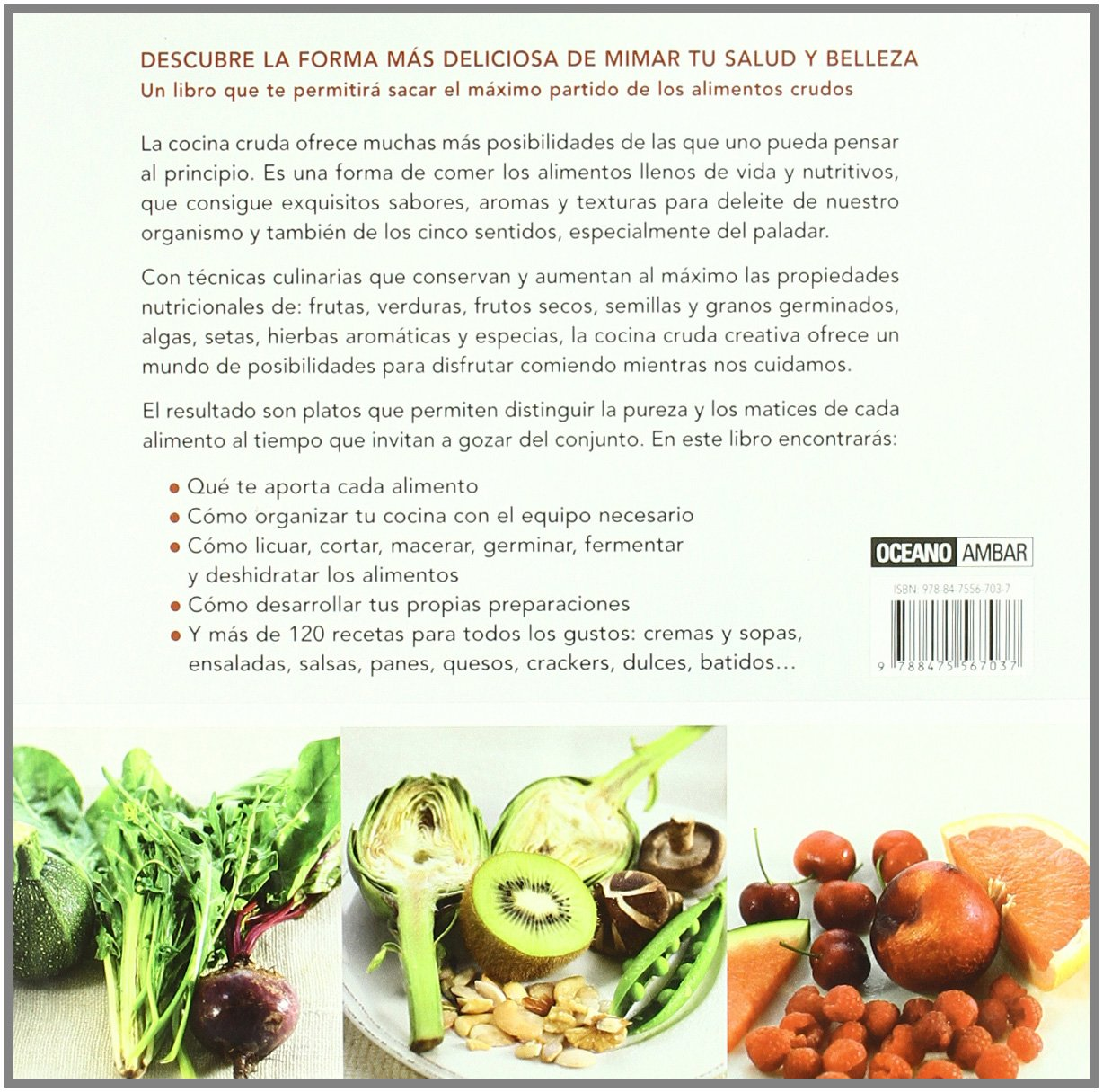 Cocina cruda creativa: PASSOLA MERCE Y VILADEVALL EDGA: 9788475567037: Amazon.com: Books
