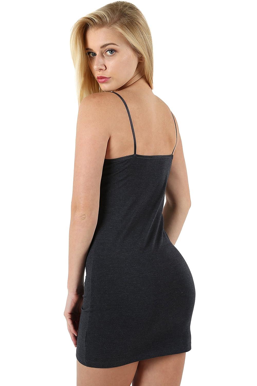 b7b23b6e728bd0 Zenana Outfitters Premium Cotton Bodycon CAMI at Amazon Women s Clothing  store