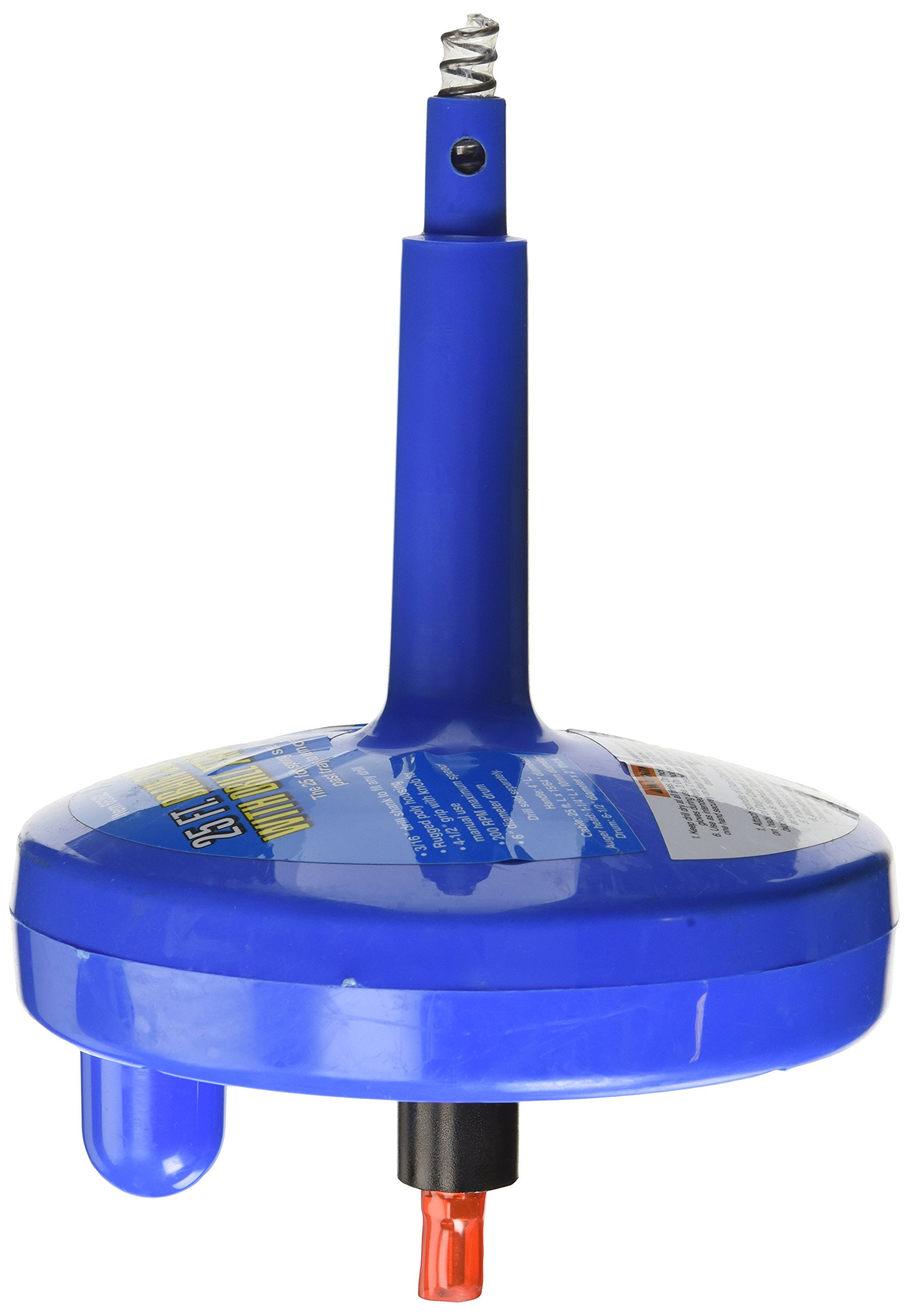 Drain Cleaner With Drill Attachment 25 Ft.