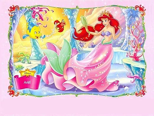 sdore Disney Ariel de la Sirenita princesa comestible tarta ...