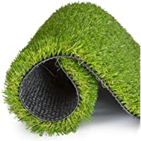 Artificial Grass for Dogs Pee Pads - Potty Pads Dogs Premium 4 Tone Puppy Potty Training, Easy To Clean with Drain Holes - Turf Dog Mat Pad. Non Toxic for Pet (1mx3m)